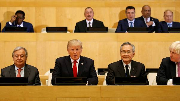 New York: Trumps 1. Rede bei UN-Generaldebatte