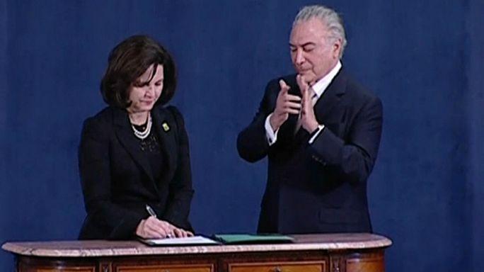 Raquel Dodge sworn in as Brazilian Attorney General saying she will maintain graft fight