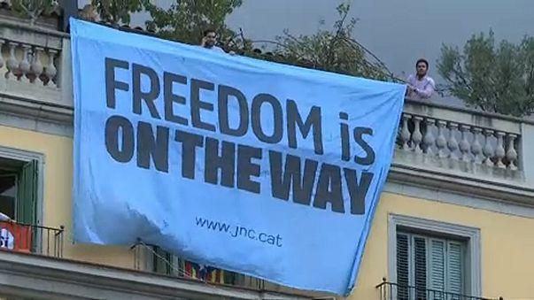 Katalán elnök: A függetlenségi népszavazás már emberi jogi kérdés