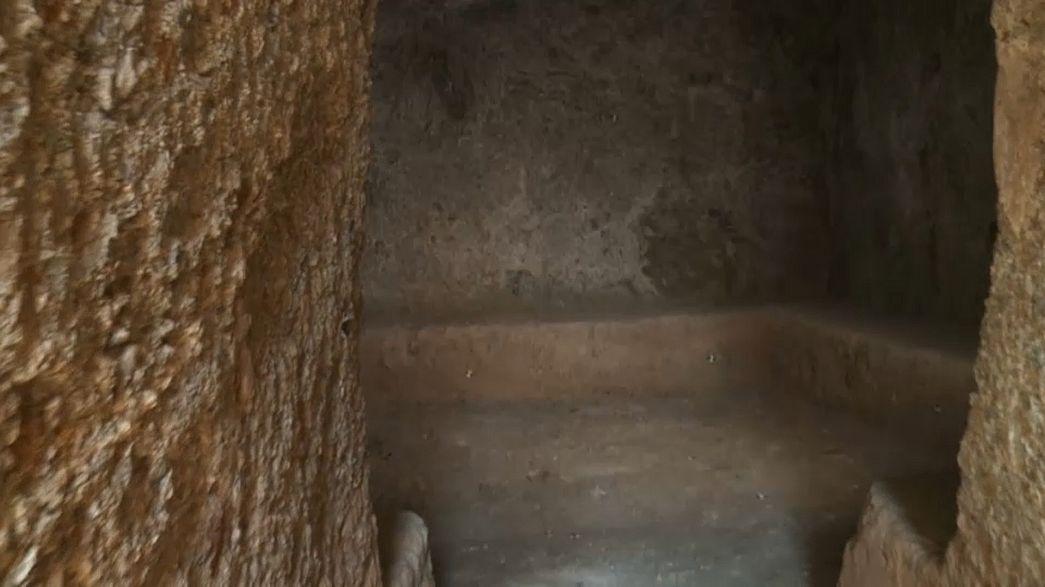 Το Euronews στα άδυτα του μυκηναϊκού τάφου της Βοιωτίας