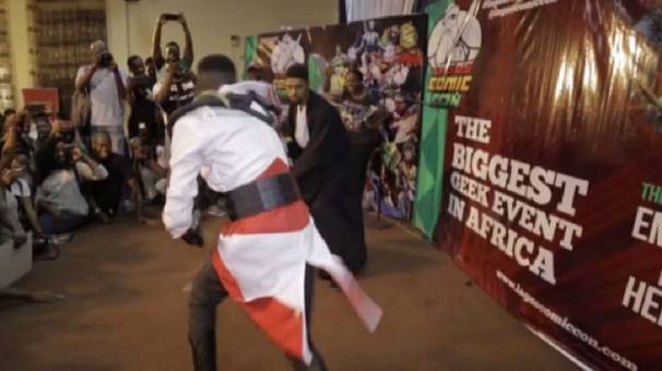 Nigeria : ouverture de la comic con de Lagos