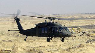 اولین فروند هلیکوپتر بلک هاوک آمریکایی به افغانستان تحویل داده شد