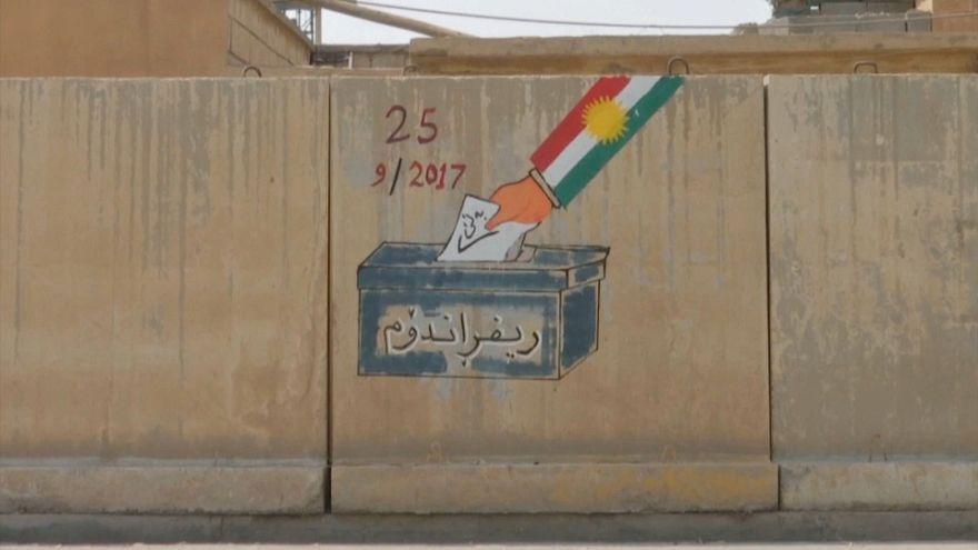 Kürdistan bağımsızlık referandumu bölge halkını ikiye böldü