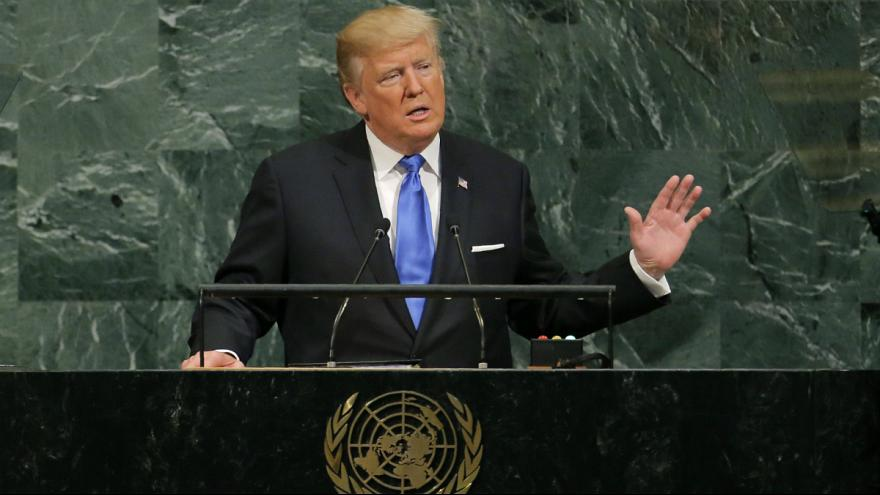 Trump at UN: US may have to 'totally destroy North Korea'