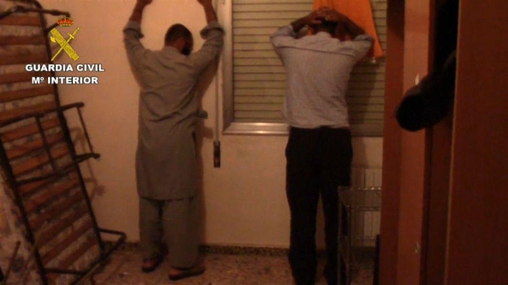 Terrorisme : un Pakistanais arrêté en Espagne
