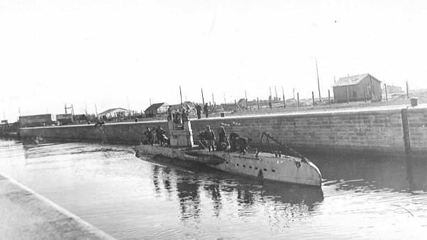 Descoberto submarino da 1ª Guerra Mundial com tripulantes a bordo