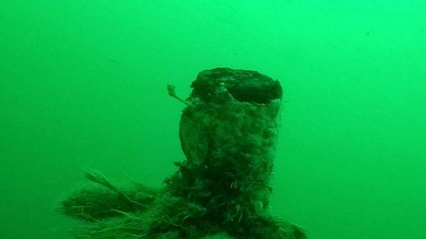 Érintetlen százéves tengeralattjárót találtak