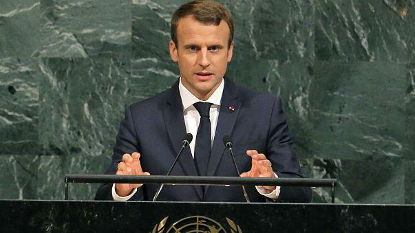 """Macron considera """"grande erro"""" denunciar acordo nuclear com o Irão"""
