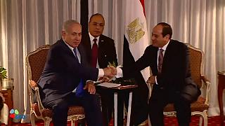 First meeting for Netanyahu and al-Sisi