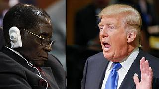 Mugabe 'rests his eyes' as Trump speaks at U.N., Twitter users react