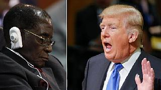 Mugabe 'rests his eyes' as Trump speaks at U.N., Twitter users reacts