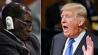 Mugabe 'rests his eyes' as Trump speaks at U.N., Twitter users react