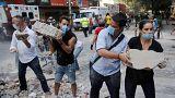 شمار کشتهشدگان زمین لرزه مکزیک از مرز ۲۴۰ نفر گذشت