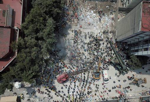 Death toll rises after Mexico rocked by huge earthquake