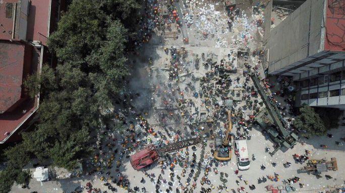Más de 200 muertos en un terremoto en el centro de México