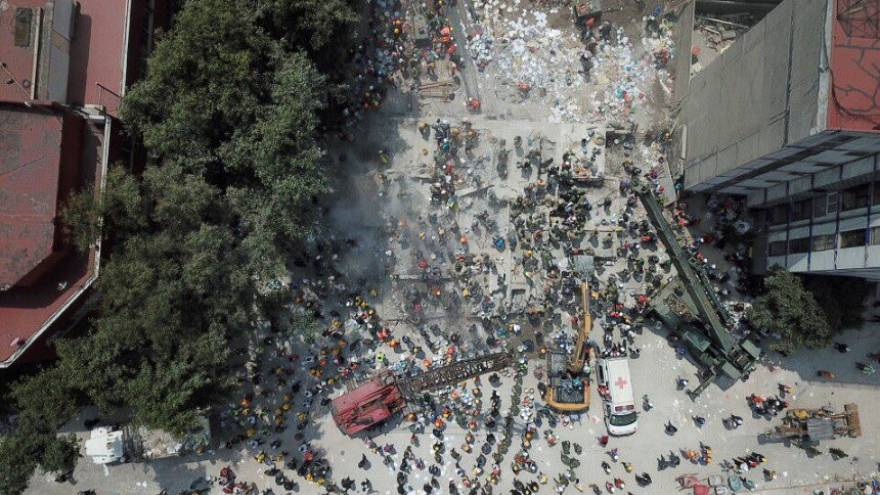 Séisme au Mexique : plus de 210 morts, dont 21 écoliers