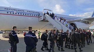 Des renforts pour les Antilles françaises après Maria