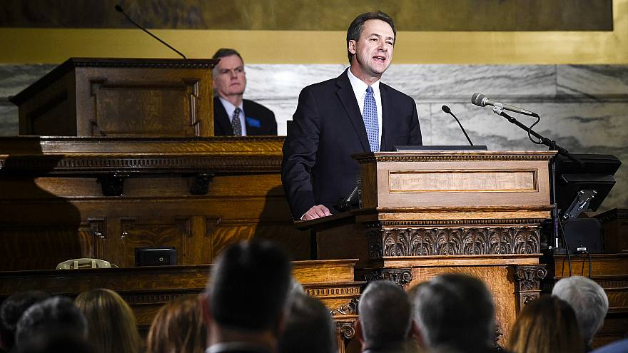 Image: Montana Governor Steve Bullock delivers his State of the State addre