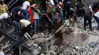 México declara 3 dias de luto nacional após novo sismo