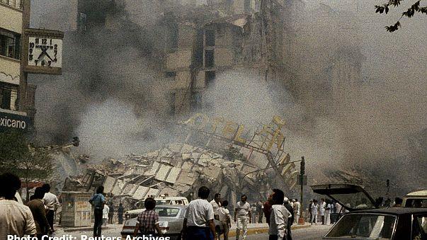 32 anni fa una scossa distrusse Città del Messico (grafico: tutti i terremoti del Paese)