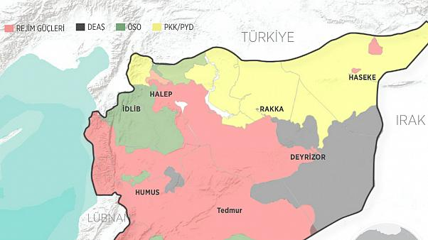 TSK, PKK hedeflerini vurdu