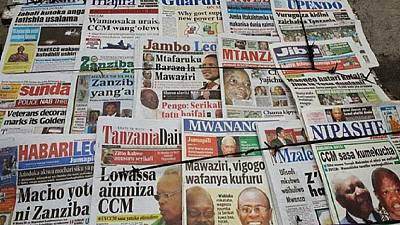 Tanzanian newspaper shut down for a second time in three months