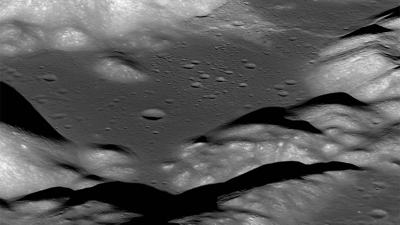 Image: Moon's seismic activity