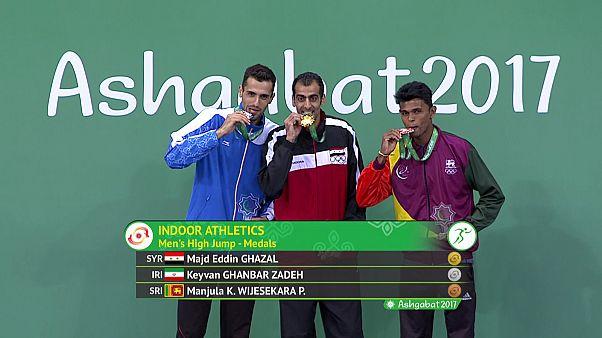 El sirio Majd Eddin Ghazal, medalla de oro en Asjabad