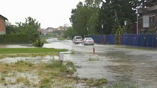 Überschwemmungen in Kroatien