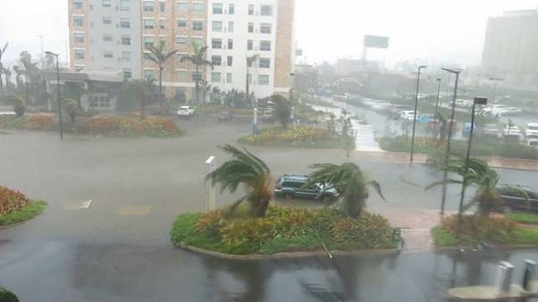 Major flooding as Hurricane Maria hits Puerto Rico