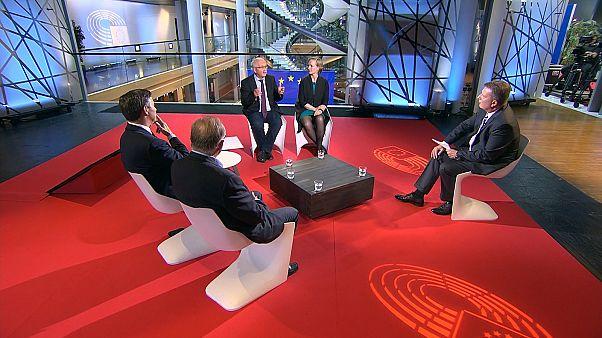 German election: what's at stake (Full debate)