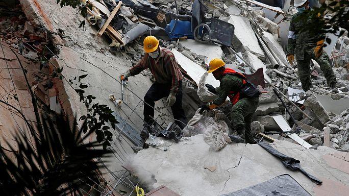 México mobiliza 8 mil soldados para zonas abaladas por sismo