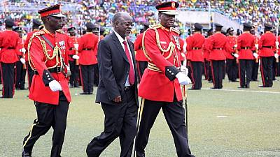 Tanzania president orders military to build wall around mines to curb theft
