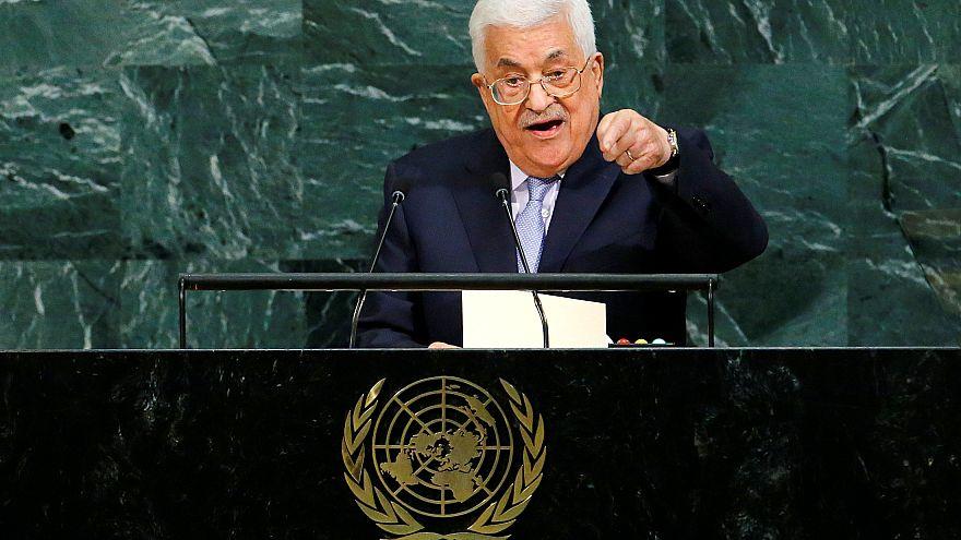 """محمود عباس:""""إسرائيل تهربت من مسؤولياتها"""""""