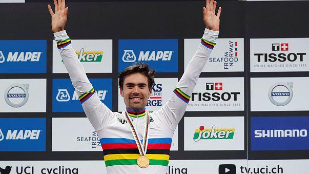 Straßenrad-WM: Dumoulin gewinnt Einzelzeitfahren