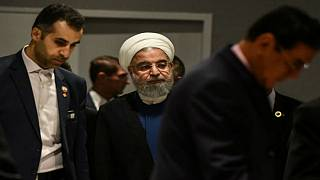 حسن روحانی در کنفرانس مطبوعاتی: دونالد ترامپ باید از مردم ایران عذرخواهی کند