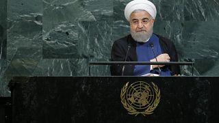 "روحاني: خطاب ترامب ""جاهل وسخيف وبغيض"""