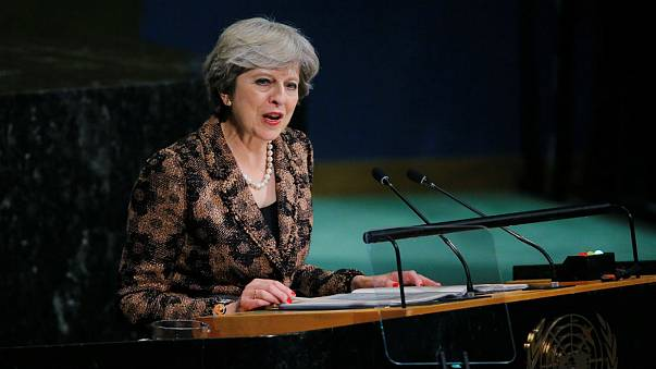 Theresa May calls for reform of the UN at General Assembly