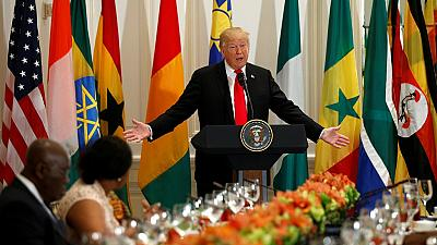 Trump to African leaders: Many of my friends trying to get rich in your countries