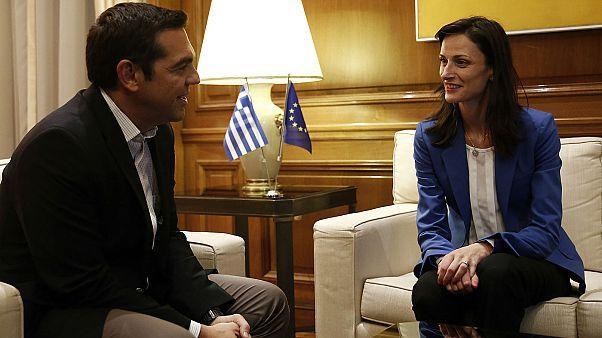 Στην Ελλάδα η Ευρωπαία επίτροπος Ψηφιακής Οικονομίας
