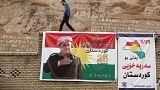 Kurden in Diyarbakir unterstützen Unabhängigkeitsreferendum im Nordirak