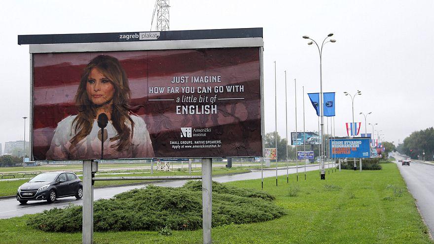 Σχολή αγγλικών χρησιμοποίησε την Μελάνια Τραμπ για διαφημιστική εκστρατεία!