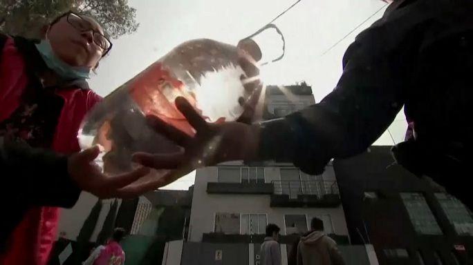A onda mexicana de solidariedade depois do terramoto