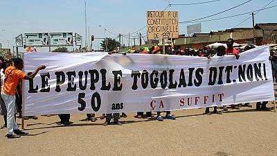 10-year-old boy killed in renewed Togo protest, govt blames opposition