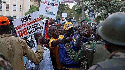 Kenya : manifestation devant la Cour Suprême