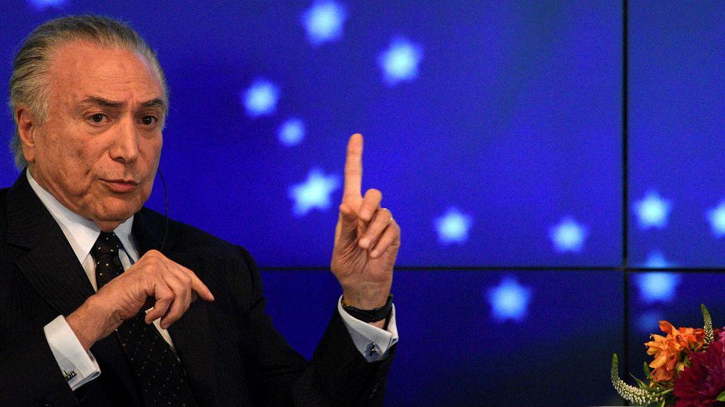 Brasile, il Presidente Temer a rischio processo