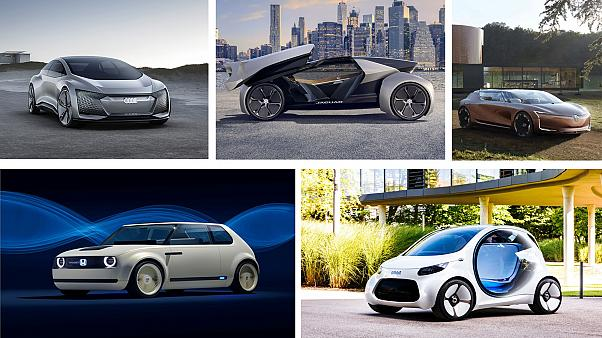 Five futuristic cars from the Frankfurt Motor Show