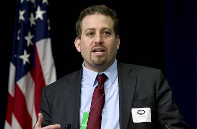 Oren Segal of the Anti-Defamation League\'s Center on Extremism speaks at the White House on Feb. 18, 2015.