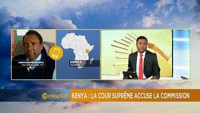 Kenya : La cour suprême accuse la commission électorale [The Morning Call]