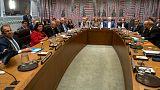 دیدار ظریف و تیلرسون؛ پیشنهادات جدید رئیس جمهوری فرانسه درباره تکمیل برجام